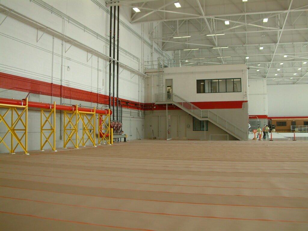 High performance floor coatings