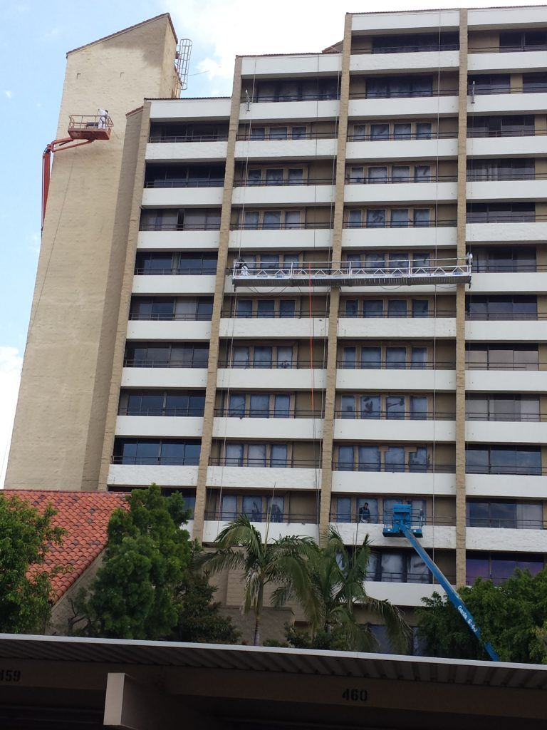 High rise condo painters