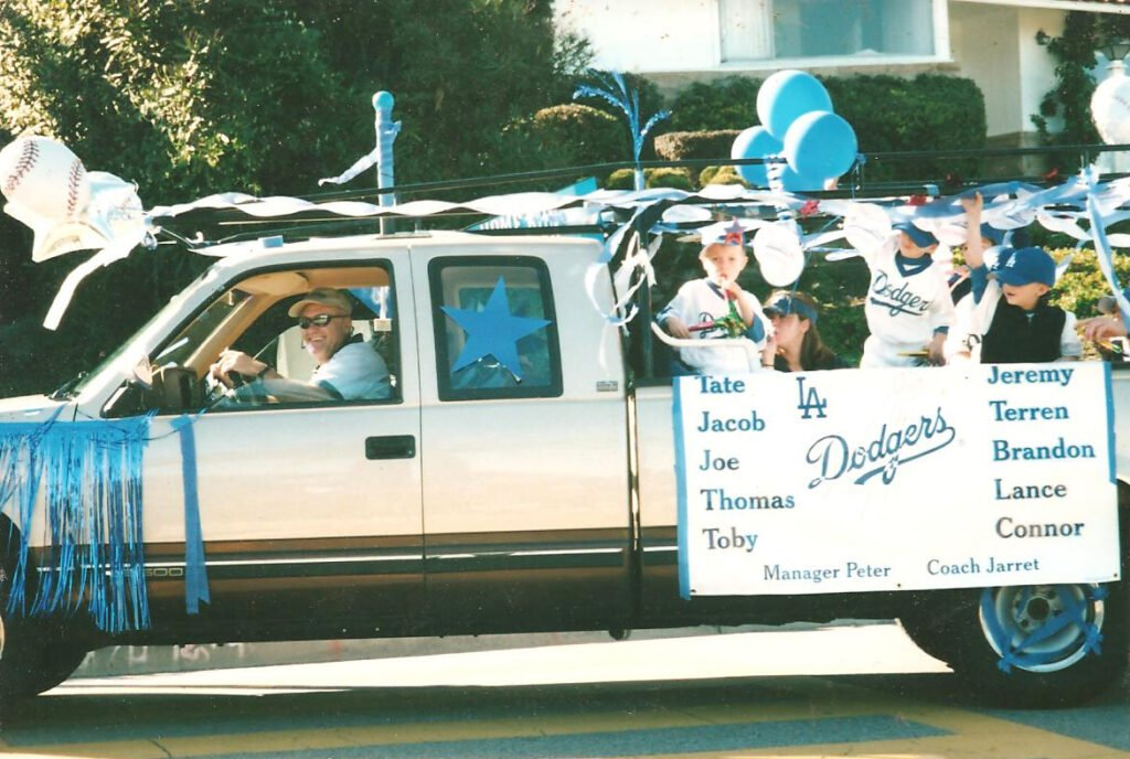 Jim Parker little league parade