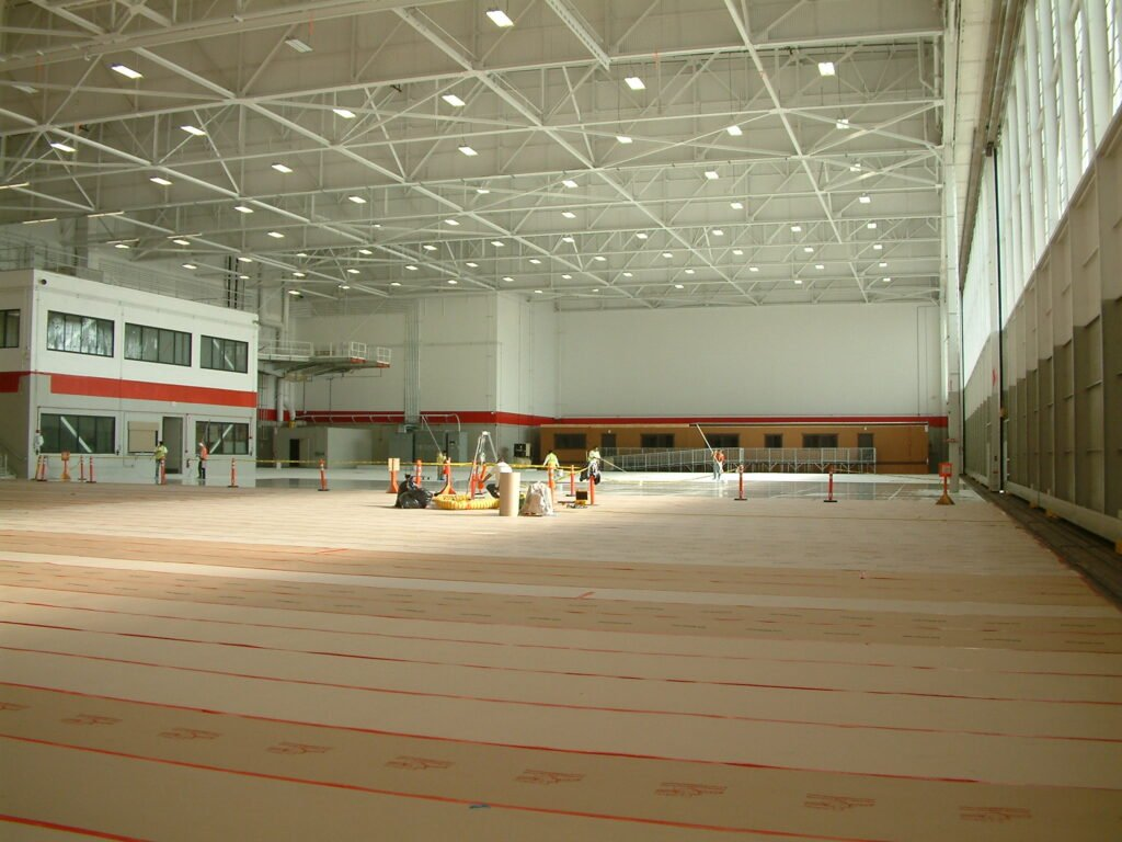 High performance floor coatings