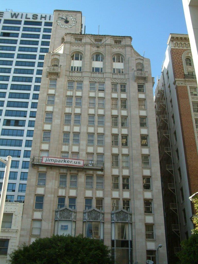 Oviatt Building -Front facade